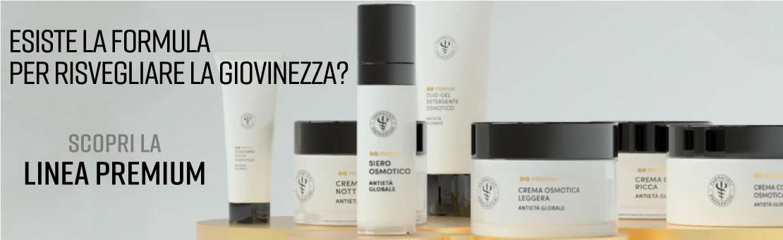 La Linea Premium riporta la pelle alle condizioni di equilibrio e benessere tipiche della giovinezza
